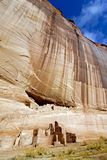 Canyon de Chelly White House. Anasazi White House ruins in Canyon de Chelly national monument stock photo