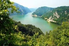 Canyon de Danube image libre de droits