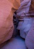 Canyon de fente Photo stock