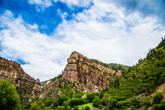 Canyon de Glenwood dans le Colorado Images stock