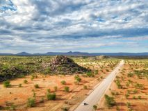 Canyon de Grootberg en Namibie du nord prise en janvier 2018 photographie stock libre de droits