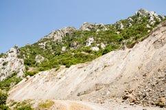 Canyon de Gutturu Cardaxius Images libres de droits