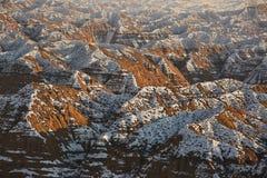 Canyon de jaune de canyon de Zhabyr photos libres de droits