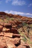 Canyon de la punta del cernícalo de rey Foto de archivo