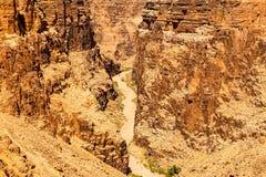 Canyon de la rivière Little Colorado Images libres de droits