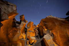 Canyon de Lit de bougie Image libre de droits