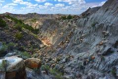 Canyon de Makoshika image libre de droits
