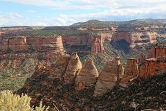 Canyon de monument photos stock