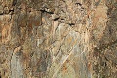 Canyon de noir de texture de fond du Gunnison à la vue d'abîme photographie stock libre de droits