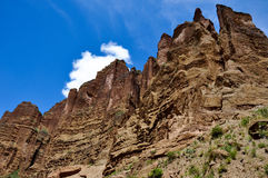 Canyon de Palca near La Paz, Bolivia.  royalty free stock photos