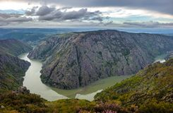 Canyon de Rio Sil in Galicia, Spain Stock Images