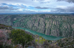 Canyon de Rio Sil in Galicia, Spain Stock Image