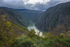 Canyon de Rio Sil in Galicia, Spain Stock Photos
