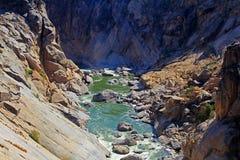 Canyon de rivière d'Oranje Photographie stock libre de droits