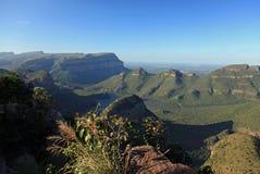 Canyon de rivière de Blyde dans Mpumalanga Photos stock