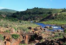 Canyon de rivière de Blyde dans Mpumalanga Photos libres de droits