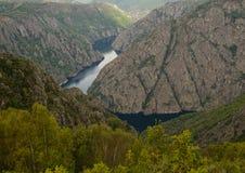 Canyon de rivière de Sil Photographie stock libre de droits