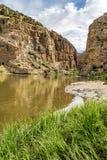 Canyon de rivière de Yampa Photographie stock libre de droits