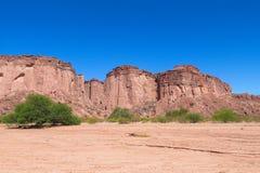 Canyon de roche de Talampaya, Argentine photos libres de droits