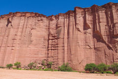 Canyon de roche de Talampaya, Argentine photographie stock