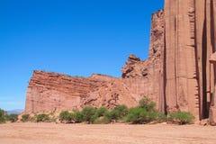Canyon de roche de Talampaya, Argentine photos stock