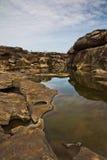 Canyon de Sam Phan Bok The Grand de la Thaïlande image stock