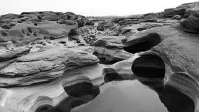 Canyon de Sam Phan Bok The Grand de la Thaïlande Images stock