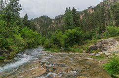 Canyon de Spearfish Photographie stock