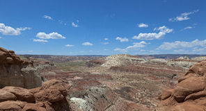 Canyon de vallée de champignon de couche Photographie stock