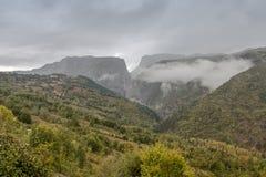 Canyon de Valla Image libre de droits