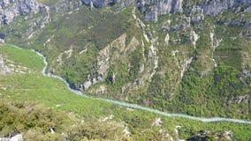 Canyon de Verdon, France photographie stock libre de droits