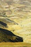 Canyon de Vettore de bâti Image stock