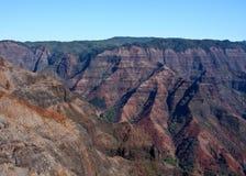 Canyon de Waimea, Kauai Images libres de droits