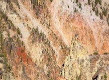 Canyon de Yellowstone Image libre de droits