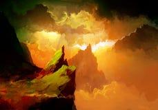 Canyon de Zion National Park Image libre de droits