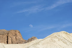Death valley landscape. Canyon of death valley in california Stock Photo