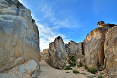 Canyon of decay granite, South of China Stock Photo