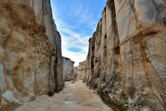 Canyon, decay granite, South of China Stock Image