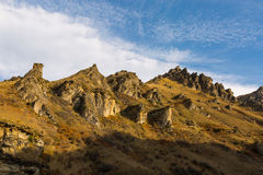 Canyon dei capitani Fotografia Stock