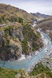 Canyon dei capitani, isola del sud, Nuova Zelanda Immagini Stock Libere da Diritti