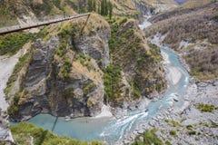Canyon dei capitani, isola del sud, Nuova Zelanda Fotografia Stock