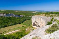 Canyon del calcare e dal Fotografia Stock