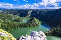 Canyon del fiume Immagine Stock Libera da Diritti