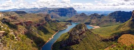 Canyon del fiume della lama, Sudafrica Fotografia Stock