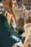 Canyon del fiume di Blyde Fotografie Stock