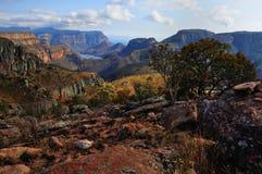 Canyon del fiume di Blyde fotografia stock libera da diritti