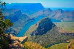 Canyon del fiume di Blyde Fotografia Stock