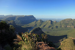 Canyon del fiume di Blyde in Mpumalanga Fotografie Stock