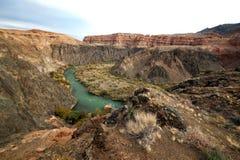 Canyon del fiume di Charyn fotografie stock