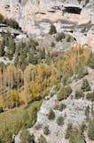 Canyon del fiume di Lobos, Soria (Spagna) Immagini Stock Libere da Diritti